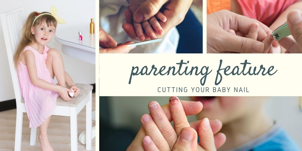 cutting your baby nail
