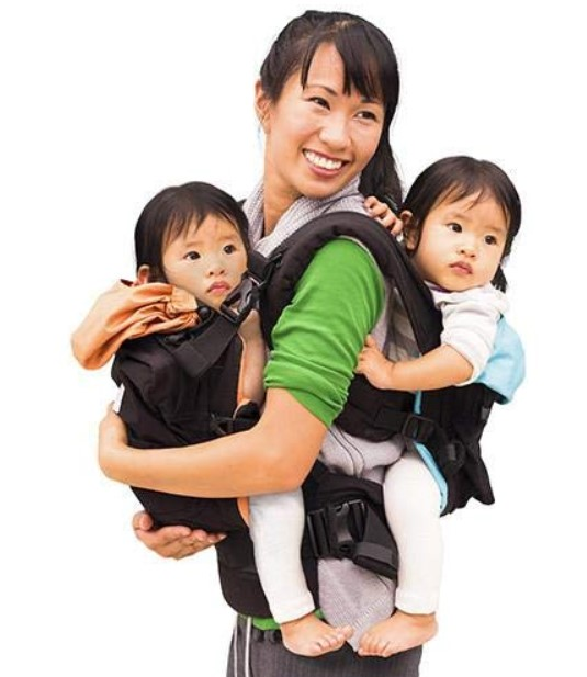 twins baby carrier