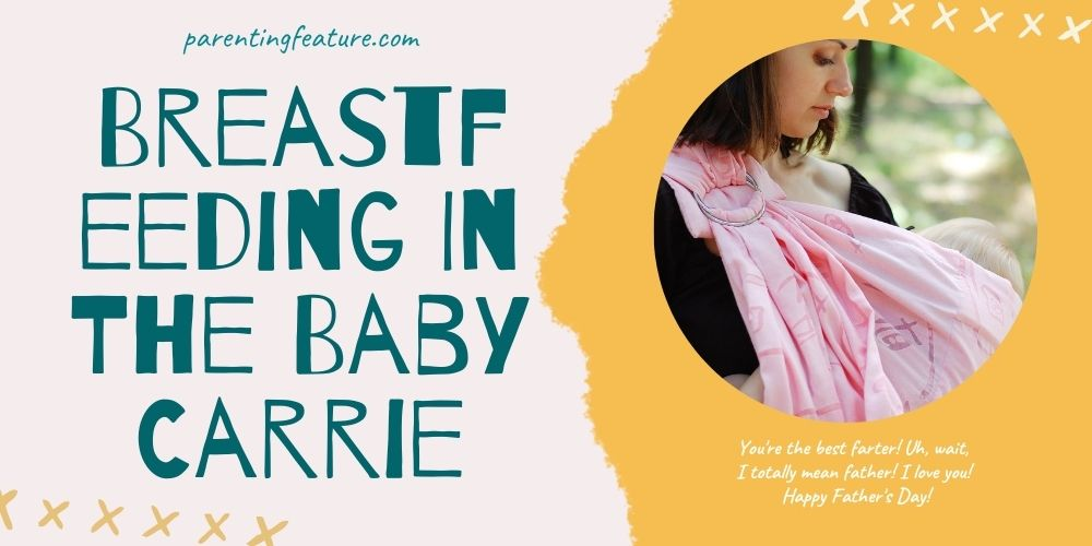 Breastfeeding In The Baby Carrier